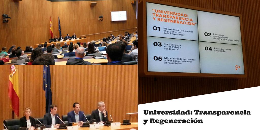 Universidad: Transparencia y Regeneración   Ciudadanos