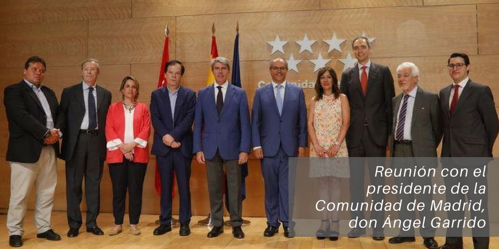Conclusiones de la reunión con el presidente de la Comunidad de Madrid, Ángel Garrido
