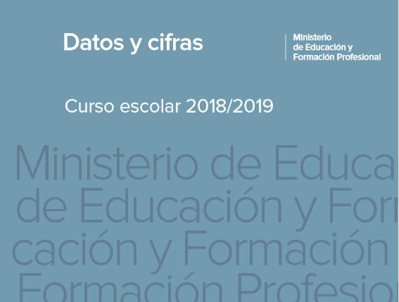 Datos del nuevo curso escolar en España
